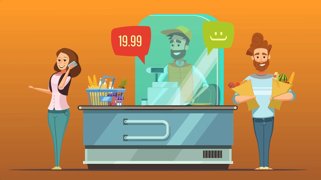 Supermarkt-Kabinen mit HEPA-Filter